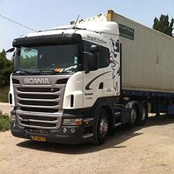 הובלה לנמל חיפה