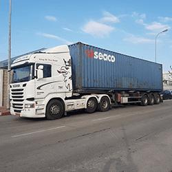 הובלה מנמל חיפה