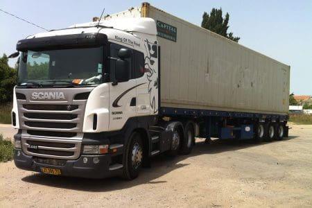 הובלות לנמל חיפה