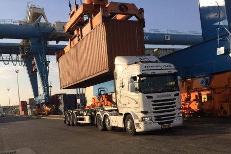 הובלות מנמל אשדוד