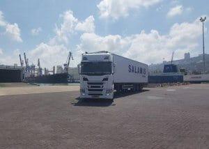 הובלת מכולות מנמל חיפה